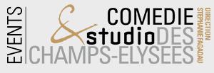logo comédie studio des champs-élysées